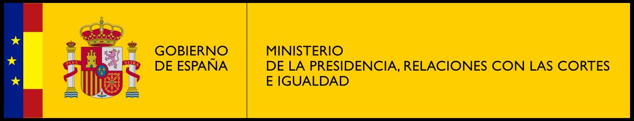 Logo Gobierno de España